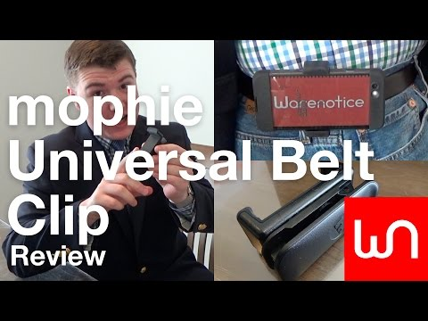 quality design e4672 57485 mophie Universal Belt Clip Review - YouTube