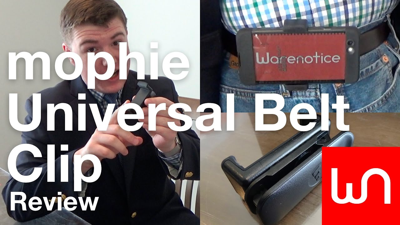 reputable site 2c76a 09f76 mophie Universal Belt Clip Review