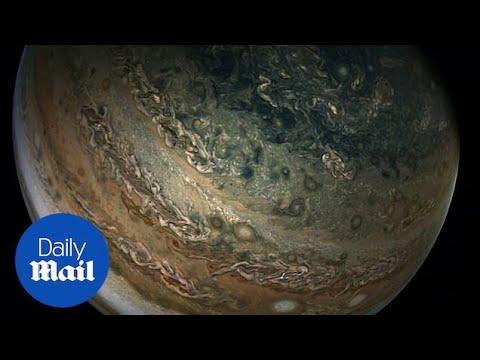 Jupiter revealed in incredible detail by NASA's Juno spacecraft