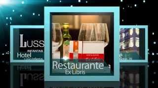 Vídeo para cliente: Hotel Lusso Infantas, Menú de primavera