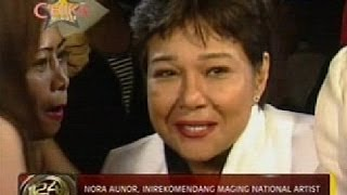 Nora Aunor, inirekomendang maging National Artist