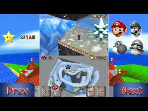 Let's Play Super Mario 64 DS Mario's Super Wall Kick (Re-upload)