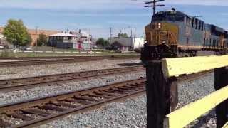 CSX Train Passing Though Muncie Indiana Tape 10 C