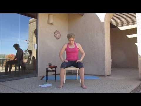 Chair yoga practice March 2017