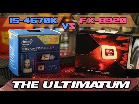 FX-8320/FX-8350 vs i5-4670k/4690k - The ULTIMATUM - Gaming and Streaming Benchmarks