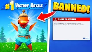 15 DUMBEST Fortnite Bans OF ALL TIME!