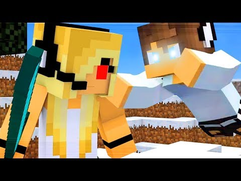 The Best Hacker vs Psycho Girl and Herobrine Songs (Top Minecraft Songs)