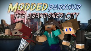 Minecraft: MODDED PARKOUR (The Abandoned City)