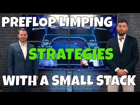 Preflop Limping Strategy With A Small Stack - Jonathan Little in GPL Poker Strategy Corner