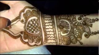 Dulhan Mehndi Design:Henna Mehendi For Indian Pakistani Bridals Thumbnail