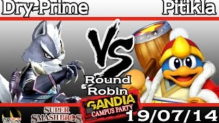 [Gandia Campus Party 2014] Pitikla (DDD) vs Dry-Prime (Wolf) - Round Robin