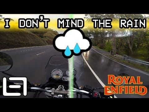 Highway Rain Hills  - Royal Enfield Himalayan