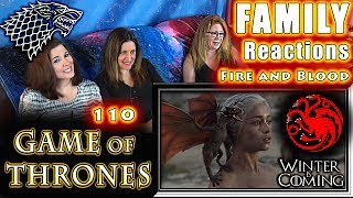 Download Video Game of Thrones | 110 | FINALE | Fire and Blood | FAMILY Reactions | Fair Use MP3 3GP MP4