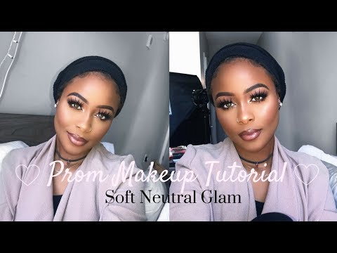 Soft Glam Prom Makeup Tutorial Yasmine Simone
