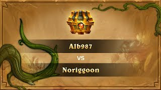 Alb987 vs Noriggoon, Hearthstone Wild Open