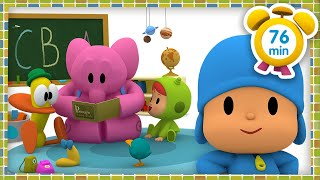 🚌 POCOYO in ENGLISH - Let's Go Back to School! [96 min] | Full Episodes|VIDEOS and CARTOONS for KIDS