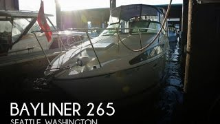 [SOLD] Used 2006 Bayliner 265 in Seattle, Washington