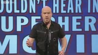 Scenes We'd Like to See: Lines You Wouldn't Hear in a Superhero Movie - Mock the Week - BBC Two