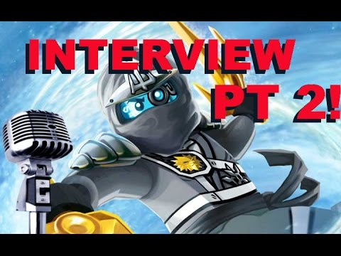 Interviewing Brent Miller Voice of Zane in LEGO Ninjago Pt 2