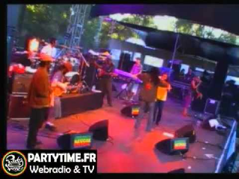Junior Kelly Live at Garance reggae fest 2011 by partytime