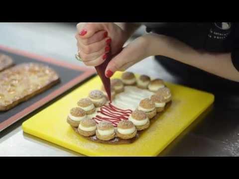 SAINT HONORE CAKE by chef Tetyana Verbytska, Kiev International Culinary Academy
