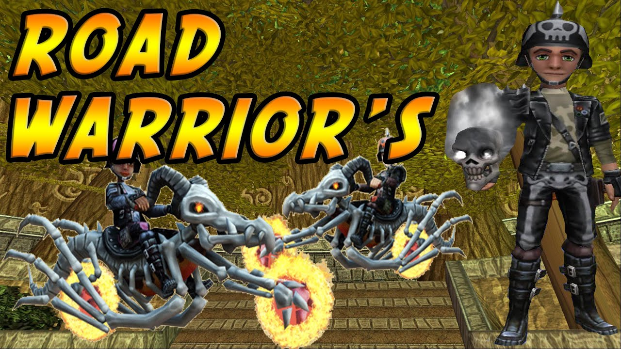 wizard101 new road warrior 39 s hoard pack 39 godly luck