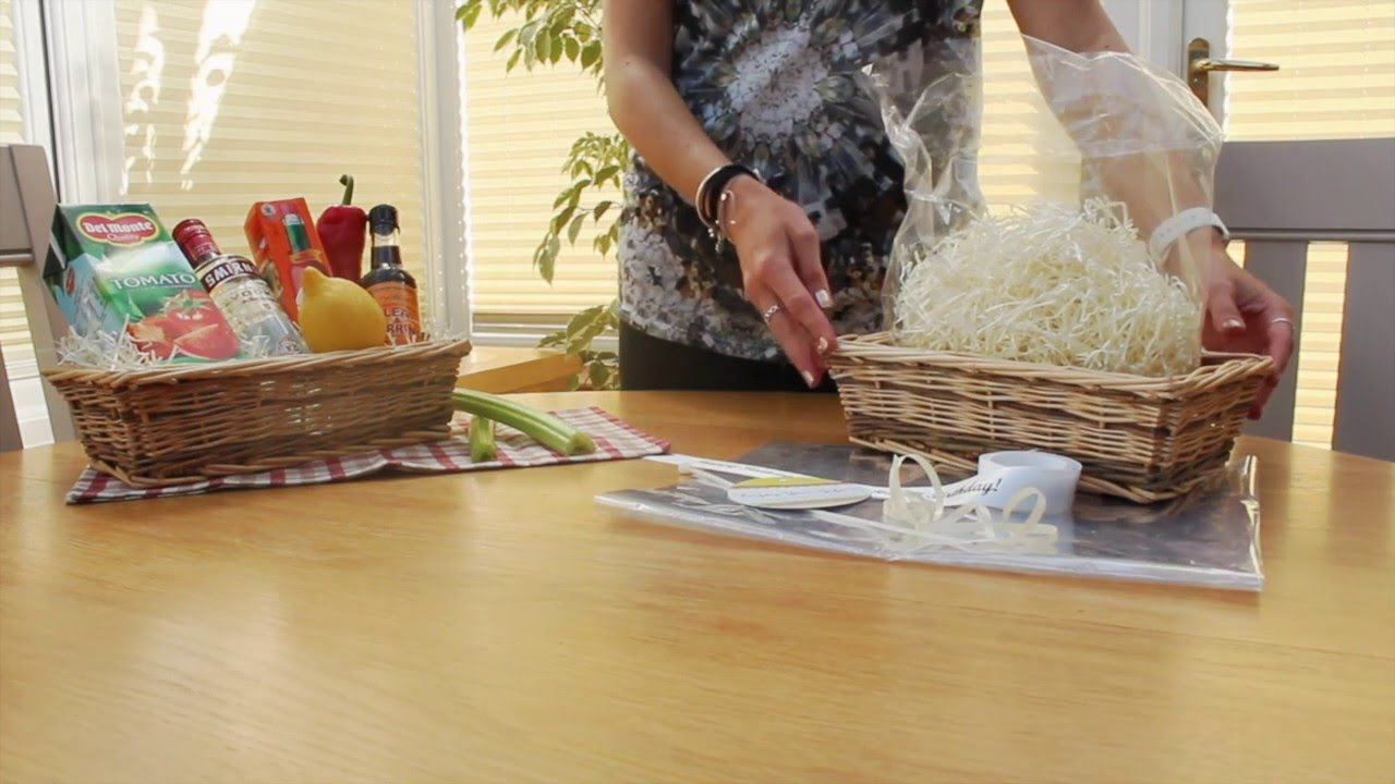 Make Your Own Gift Baskets & Make Your Own Gift Baskets - YouTube