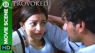 The Threat   Aishwarya Rai And Naveen Andrews   Hollywood Movie Provoked Hindi Dubbed
