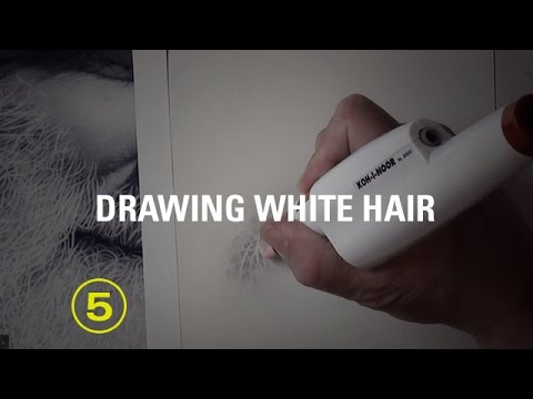 how-to-draw-white-hair-with-pencil