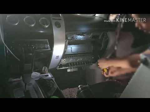 How to remove/replace/clean Cabin Filter Mitsubishi Monterosport 2013 Gen 2  D. I. Y.