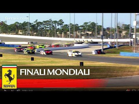 Ferrari Challenge - Finali Mondiali - Highlights Daytona Coppa Shell