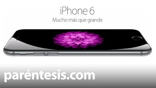 iPhone 6, review en español