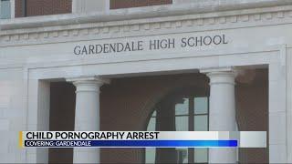 Child porn arrest in Gardendale HS parking out