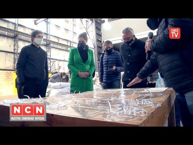 CINCO TV - Julio Zamora inauguró el Polo Cooperativo de Benavídez