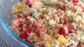 Summer Salad Recipe - Easy Quinoa Salad Indian Style