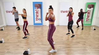 40-Minute Cardio & Scขlpt High-Intensity Workout With The Hollywood Trainer Jeanette Jenkins