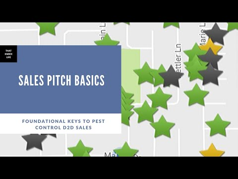 Keys to Your Intro Pitch in Pest Control Sales, That Knock Life