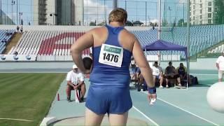 Штовхання ядра, чоловіки (чемпіонат України з легкої атлетики 2017)