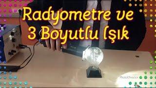 Radyometre ve 3 Boyutlu Işık Deneyi (Bu Deneyi Daha ÖnceGörmediniz)