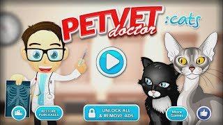 Pet Vet Doctor Cats - Bake More Cake Maker Inc. Walkthrough