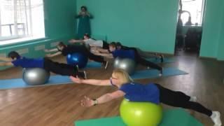 Урок лечебной физкультуры в школе для обучающихся с ограниченными возможностями здоровья
