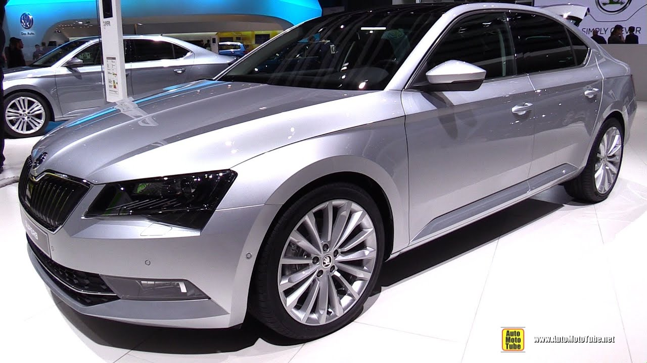 2016 skoda superb style exterior and interior walkaround 2015 geneva motor show youtube. Black Bedroom Furniture Sets. Home Design Ideas