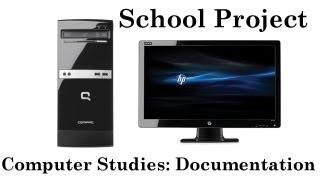 School Project: Computer Studies: Hardware Project Video