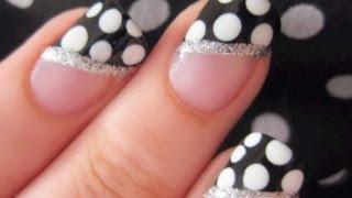 Easy Polka Dot Nails  | CutePolish | Disney Style