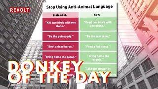 PETA | Donkey Of The Day