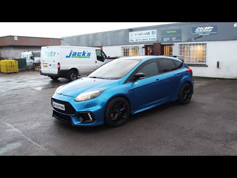Ford Focus ST full car wrap in 3M Blue Metallic + RS bodykit installation - YouTube & Ford Focus ST full car wrap in 3M Blue Metallic + RS bodykit ... markmcfarlin.com