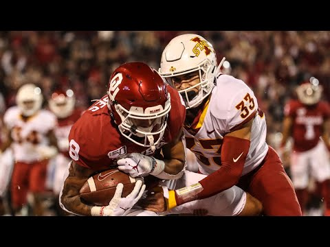 Iowa State vs Oklahoma Football Highlights