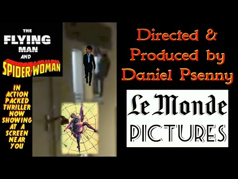 Bataclan Pregnant Spider Woman and the Flying Man