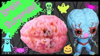 Wacky Jello Brains Wednesday! Gross Halloween Surprise! Uggly's! Moshi Monsters! Blind Bags!