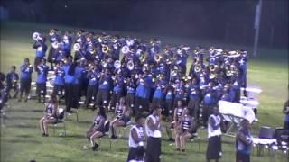 MISSISSIPPI VS MEMPHIS MASS BAND ROUND 7 2013